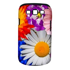 Lovely Flowers, Blue Samsung Galaxy S Iii Classic Hardshell Case (pc+silicone)