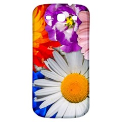 Lovely Flowers, Blue Samsung Galaxy S3 S Iii Classic Hardshell Back Case