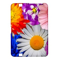 Lovely Flowers, Blue Kindle Fire HD 8.9  Hardshell Case
