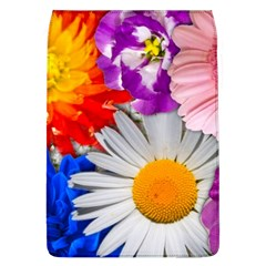 Lovely Flowers, Blue Removable Flap Cover (Large)