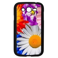 Lovely Flowers, Blue Samsung Galaxy Grand DUOS I9082 Case (Black)