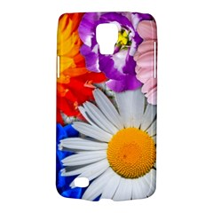 Lovely Flowers, Blue Samsung Galaxy S4 Active (i9295) Hardshell Case
