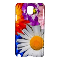Lovely Flowers, Blue Samsung Galaxy Note 3 N9005 Hardshell Case