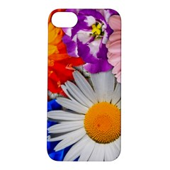 Lovely Flowers, Blue Apple iPhone 5S Hardshell Case
