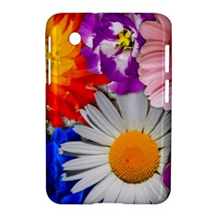 Lovely Flowers, Blue Samsung Galaxy Tab 2 (7 ) P3100 Hardshell Case