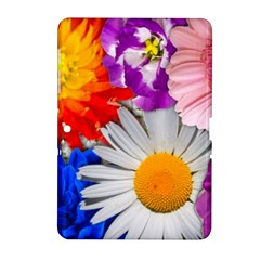 Lovely Flowers, Blue Samsung Galaxy Tab 2 (10.1 ) P5100 Hardshell Case
