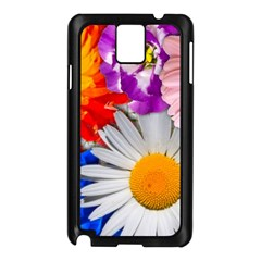 Lovely Flowers, Blue Samsung Galaxy Note 3 N9005 Case (Black)