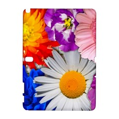 Lovely Flowers, Blue Samsung Galaxy Note 10.1 (P600) Hardshell Case