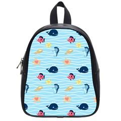 Fun Fish Of The Ocean School Bag (small)