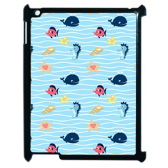 Fun Fish Of The Ocean Apple Ipad 2 Case (black)