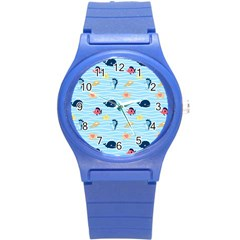 Fun Fish of the Ocean Plastic Sport Watch (Small)