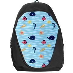 Fun Fish of the Ocean Backpack Bag