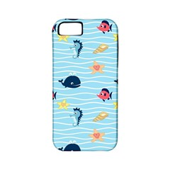 Fun Fish Of The Ocean Apple Iphone 5 Classic Hardshell Case (pc+silicone)