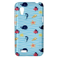Fun Fish of the Ocean HTC Desire VT (T328T) Hardshell Case