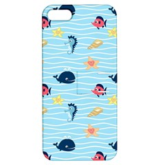 Fun Fish of the Ocean Apple iPhone 5 Hardshell Case with Stand