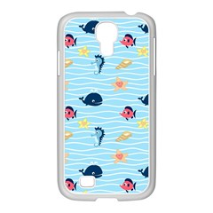 Fun Fish of the Ocean Samsung GALAXY S4 I9500/ I9505 Case (White)