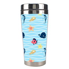 Fun Fish of the Ocean Stainless Steel Travel Tumbler