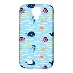 Fun Fish of the Ocean Samsung Galaxy S4 Classic Hardshell Case (PC+Silicone)