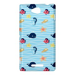 Fun Fish of the Ocean Sony Xperia C (S39H) Hardshell Case