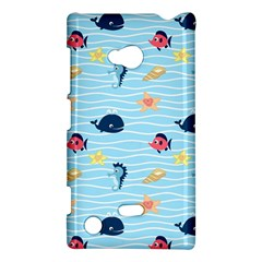 Fun Fish of the Ocean Nokia Lumia 720 Hardshell Case