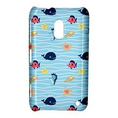 Fun Fish of the Ocean Nokia Lumia 620 Hardshell Case
