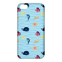 Fun Fish of the Ocean Apple iPhone 5C Hardshell Case