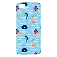 Fun Fish Of The Ocean Iphone 5s Premium Hardshell Case