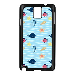 Fun Fish of the Ocean Samsung Galaxy Note 3 N9005 Case (Black)
