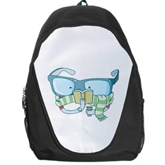 Reading Glasses Backpack Bag