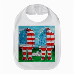 2 Painted U,s,a,flag Big Foots Bib