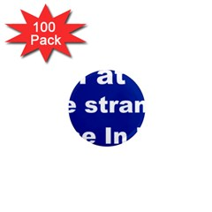 Fear1 1  Mini Button Magnet (100 pack)