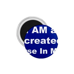God Created 1.75  Button Magnet