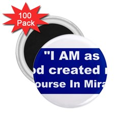 God Created 2 25  Button Magnet (100 Pack)
