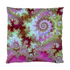 Raspberry Lime Delight, Abstract Ferris Wheel Cushion Case (two Sides)