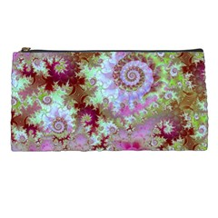 Raspberry Lime Delight, Abstract Ferris Wheel Pencil Case