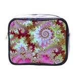 Raspberry Lime Delight, Abstract Ferris Wheel Mini Toiletries Bag (One Side) Front