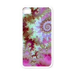 Raspberry Lime Delight, Abstract Ferris Wheel Apple Iphone 4 Case (white)