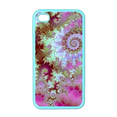 Raspberry Lime Delight, Abstract Ferris Wheel Apple Iphone 4 Case (color)
