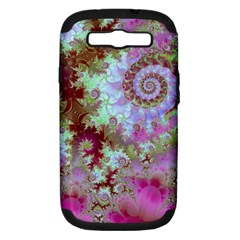 Raspberry Lime Delight, Abstract Ferris Wheel Samsung Galaxy S Iii Hardshell Case (pc+silicone)