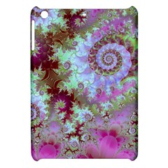 Raspberry Lime Delight, Abstract Ferris Wheel Apple Ipad Mini Hardshell Case