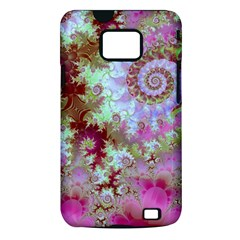 Raspberry Lime Delight, Abstract Ferris Wheel Samsung Galaxy S II i9100 Hardshell Case (PC+Silicone)