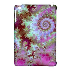 Raspberry Lime Delight, Abstract Ferris Wheel Apple iPad Mini Hardshell Case (Compatible with Smart Cover)