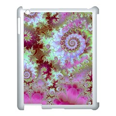 Raspberry Lime Delight, Abstract Ferris Wheel Apple Ipad 3/4 Case (white)