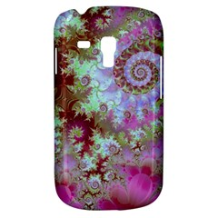 Raspberry Lime Delight, Abstract Ferris Wheel Samsung Galaxy S3 MINI I8190 Hardshell Case