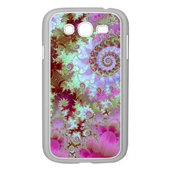 Raspberry Lime Delight, Abstract Ferris Wheel Samsung Galaxy Grand DUOS I9082 Case (White)