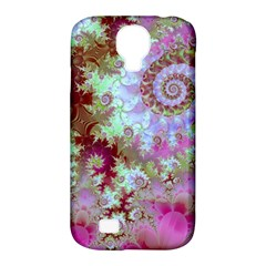 Raspberry Lime Delight, Abstract Ferris Wheel Samsung Galaxy S4 Classic Hardshell Case (PC+Silicone)