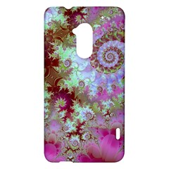 Raspberry Lime Delight, Abstract Ferris Wheel HTC One Max (T6) Hardshell Case