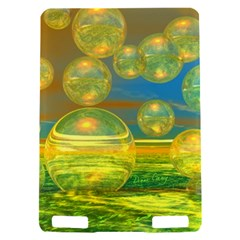Golden Days, Abstract Yellow Azure Tranquility Kindle Touch 3G Hardshell Case