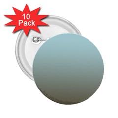 Blue Gold Gradient 2.25  Button (10 pack)