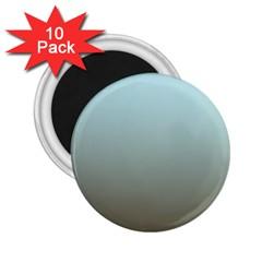 Blue Gold Gradient 2.25  Button Magnet (10 pack)